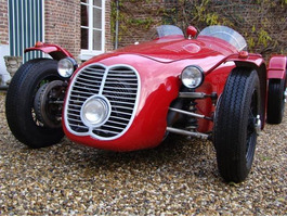 Maserati Monofaro Perfect Re-creation OLDTIMER!