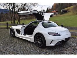 Mercedes-Benz SLS AMG Coupe Black Series 1
