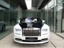 Rolls-Royce Dawn New Model 2018